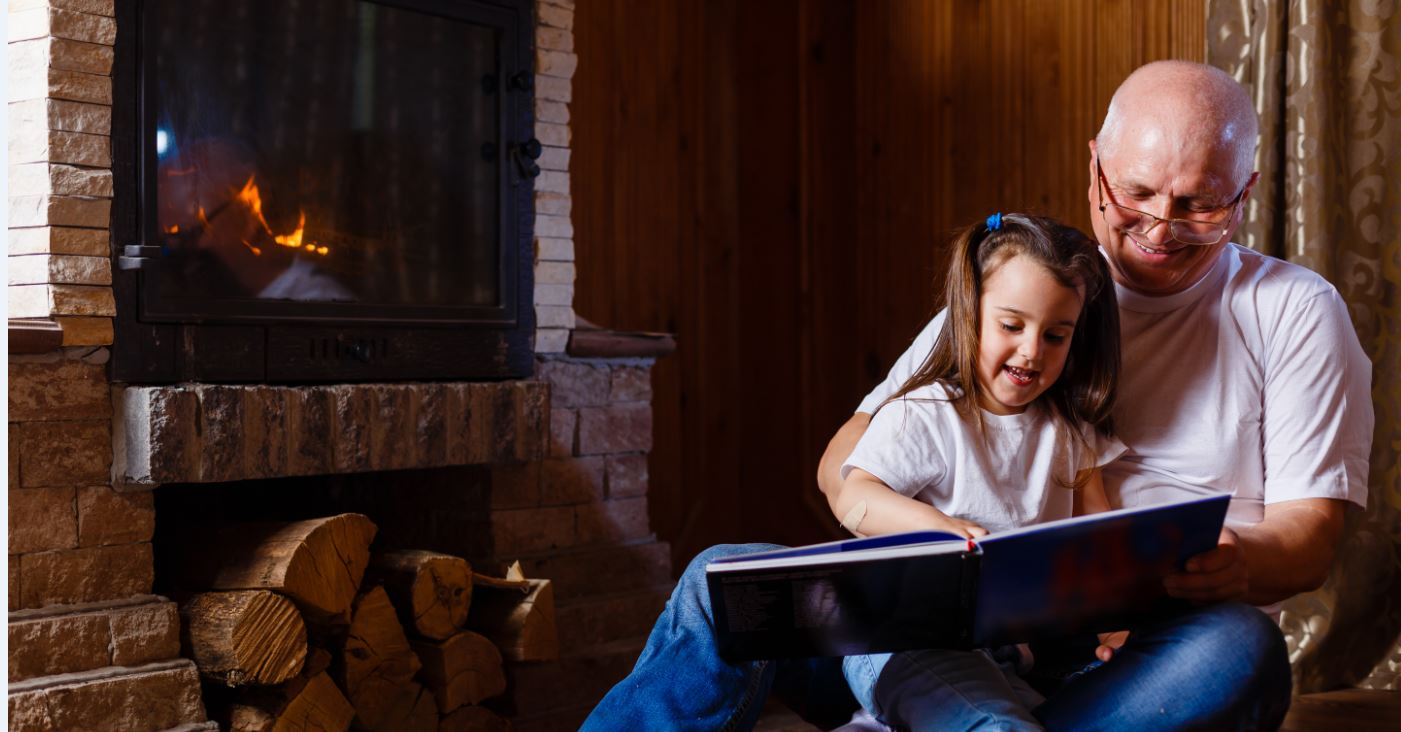 wood stove story time.JPG